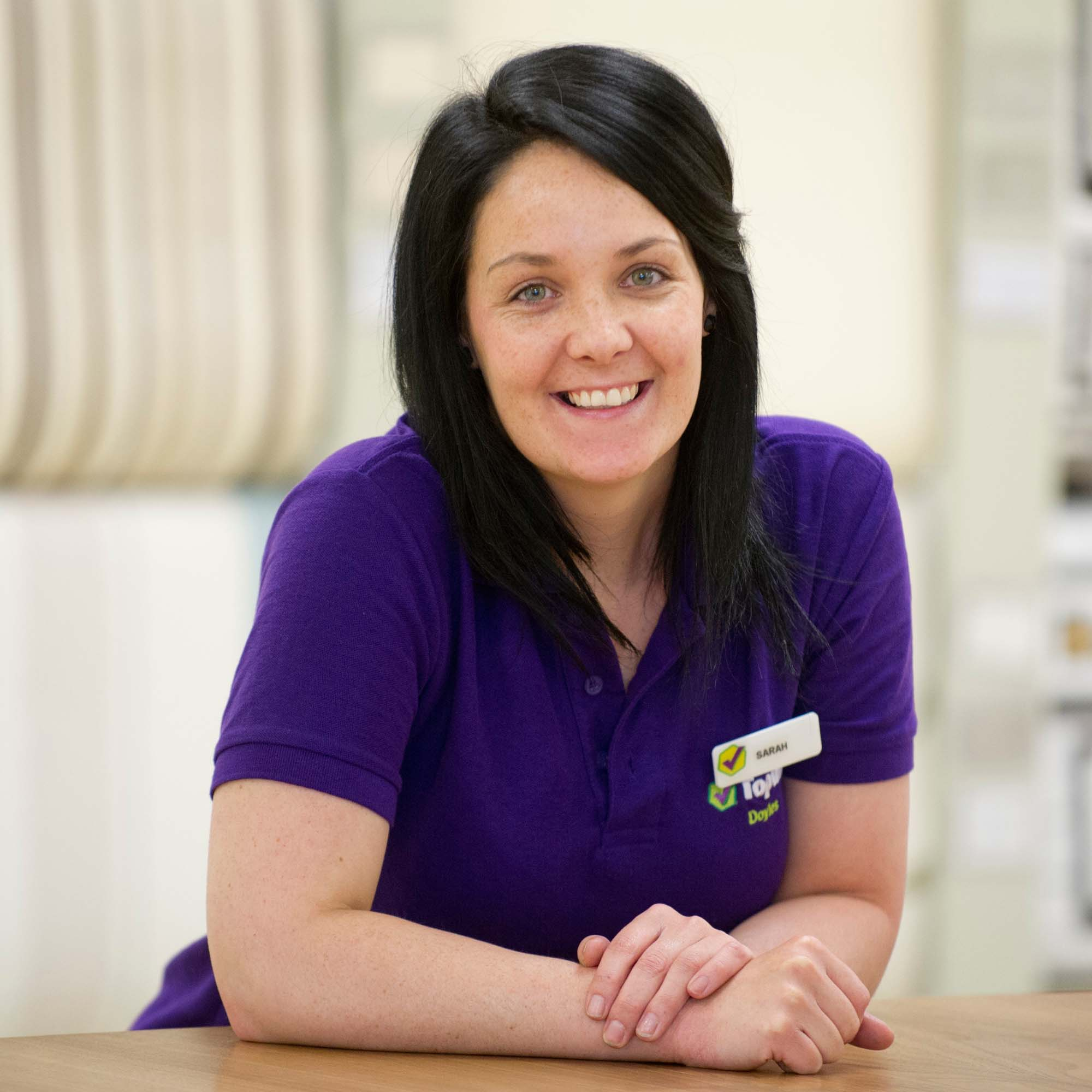 Paint and Wallpaper Sales Team - Sarah White