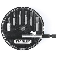 Stanley  Insert Bit Set: Phillips, Slotted - 7 Piece