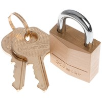 Master Lock  Brass Padlock - 20mm