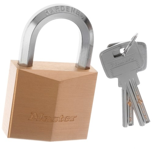 Master Lock  Hexagonal Padlock - 50mm