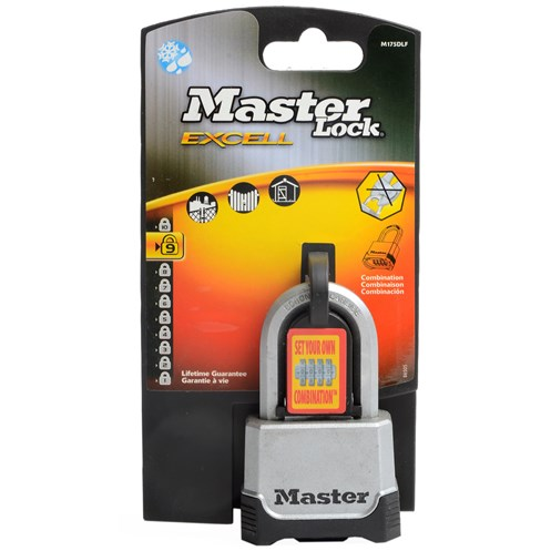 Master Lock Excell Zinc Combination Padlock - 50mm