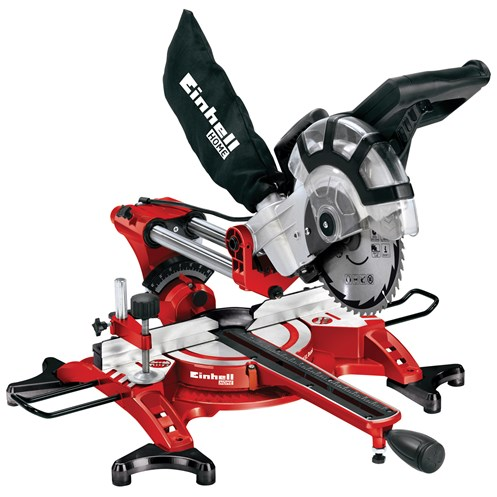 Einhell  TH-SM2131 Double Bevel Crosscut Mitre Saw & Laser 210mm - 1500W 240V