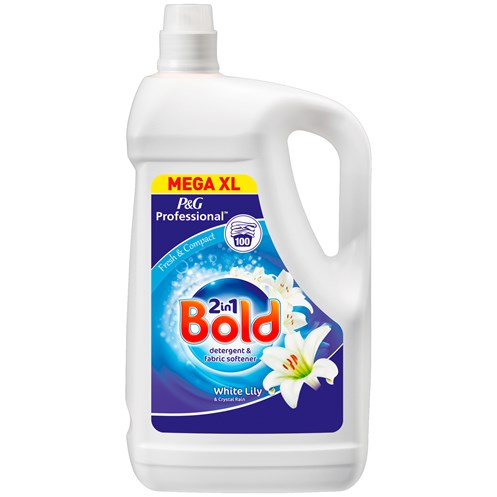 Bold  Professional 2-in-1 White Lily & Crystal Rain Laundry Liquid - 100 Washes