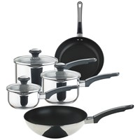 Prestige Everyday Stainless Steel Cookware Set - 5 Piece