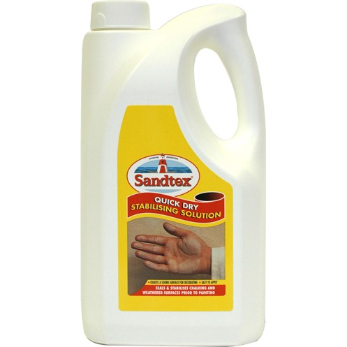 Sandtex  Stabilising Solution Clear Paint - 2.5 Litre