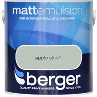Berger  Matt Emulsion Colours Paint - 2.5 Litre