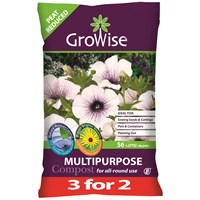 Bord na Móna Growise Multi-Purpose Compost 56 Litre - 3 for 2