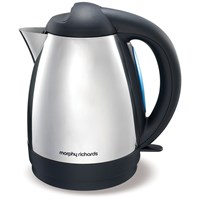 Morphy Richards  Polished Stainless Steel Kettle - 1.5 Litre
