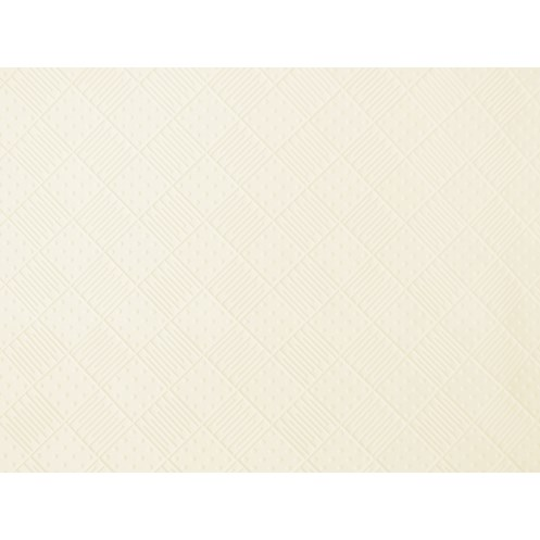 Croydex  Basics Range Rubber Shower Mat - White