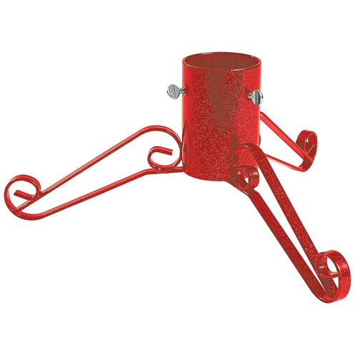 Bosmere  Traditional Red Metal Christmas Tree Stand - 4in