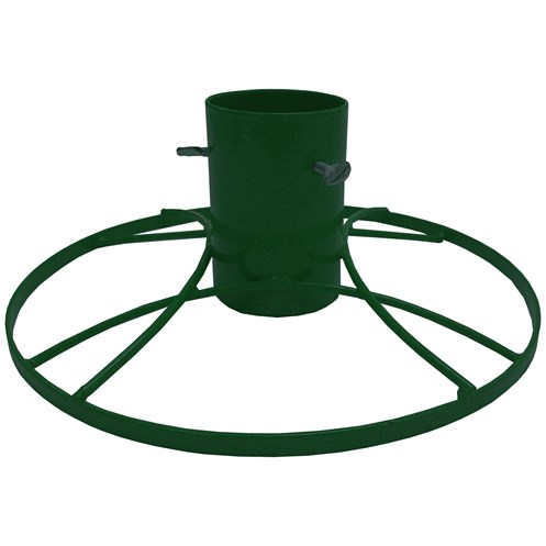 Bosmere  Contemporary Green Metal Christmas Tree Stand - 4in