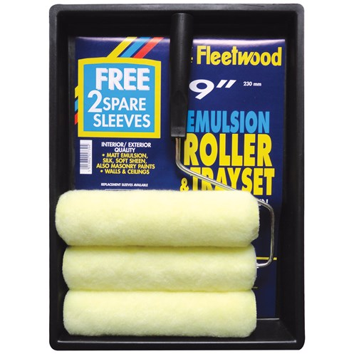 Fleetwood  Paint Roller Set - 9in