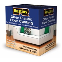 Rustins  Plastic Floor Coating Trade Pack Gloss Paint - 4 litre