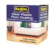 Rustins  Plastic Floor Coating Trade Pack Satin Paint - 4 litre