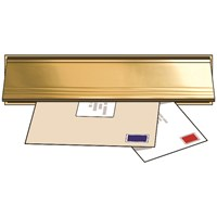 Exitex  Letterplate Seal & Flap - Gold