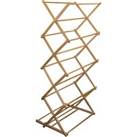 JVL  Wood Folding Clothes Airer