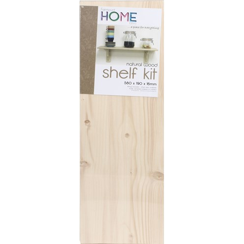 Fairmount  Pine Shelf Kit - 24 x 8in