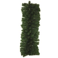 Festive  Green Christmas Display Garland - 9ft