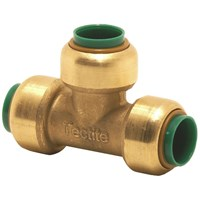 Tectite  Brass Pipe Tee Piece - 1/2in