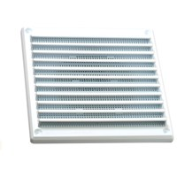 Rytons  Louvre Fixed Vent with Fly Mesh - 6 x 6in