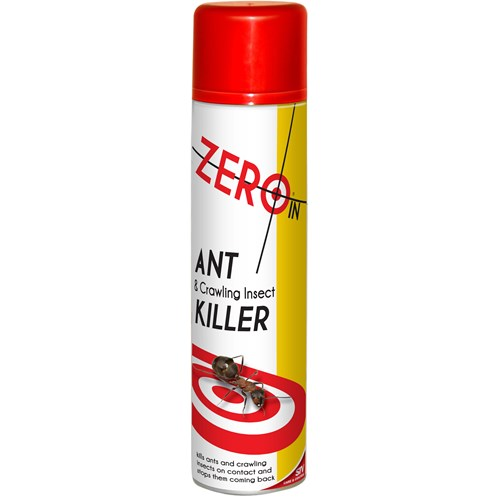 Zero In  Ant, Cockroach & Crawling Insect Killer Spray - 300ml
