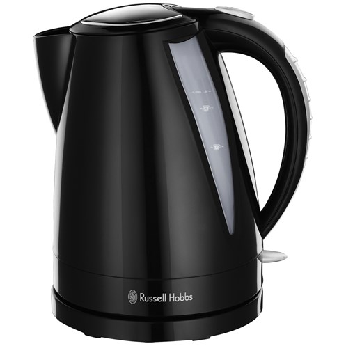 Russell Hobbs  Buxton Black Cordless Jug Kettle - 1.7 Litre