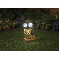Premier Decorations  Owl with Solar Light
