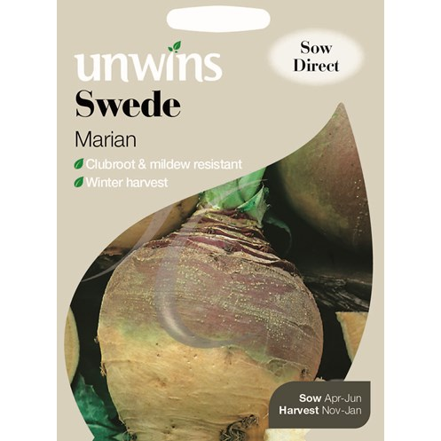 Unwins  Swede Marian Vegetable Seeds