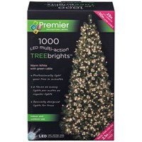 Premier Decorations  1000 LED Treebright Lights - Warm White