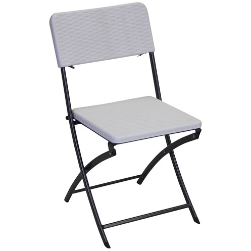 Tivoli  Folding Chair - White