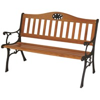 Mercer Donard Single Bend Rose Garden Bench