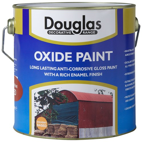 Douglas Decorative Range Oxide Paint - 2.5 Litre
