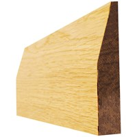 Picton  Oak Chamfered Pre-Finished Architrave - 4in