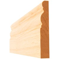 Picton  Oak Ogee Pre-Finished Architrave - 4in