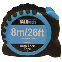 Tala  Auto Lock Measuring Tape - 8m