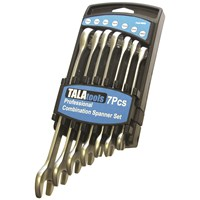 Tala  Professional Combination Spanner Set - 7 Piece