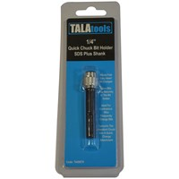 Tala  1/4in Quick Chuck Bit Holder SDS Plus Shank