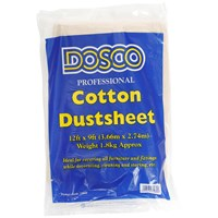 Dosco  Cotton Dustsheet - 12 x 9ft