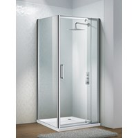 Flair Slimline Capella Frameless Shower Enclosure Side Panel