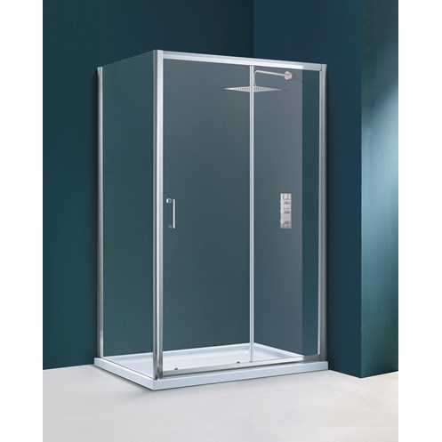 Flair Hydro Express Fit Frameless Shower Enclosure Side Panel
