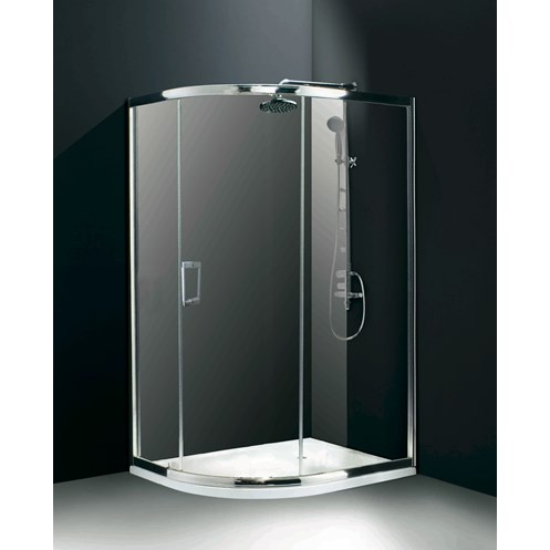 Flair Chianti 900mm Central Opening Single Door Quadrant Shower Enclosure