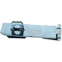 Phoenix  Silver Safety Hasp & Staple 4½in - Steel