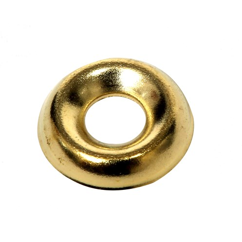Phoenix  Brass Plated Screw Cup Washers - 20 Pack