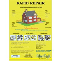 Fiber Tech  Medium Rapid Repair Patch - 150 x 225mm