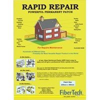 Fiber Tech  Large Rapid Repair Patch - 300 x 225mm