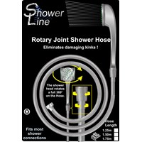Shower Line  Rotary Joint Shower Hose - 1.5m