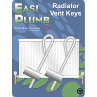 Easi Heat  Veha Radiator Vent Key - 2 Pack