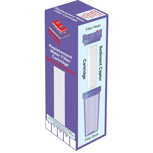 Excel  Filter Cartridge 25 Micron Sediment Captor