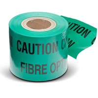 Safeline  Warning Tape 365m - Caution Fibre Cable Below