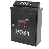 De Vielle  Diecast Post Box - Horse